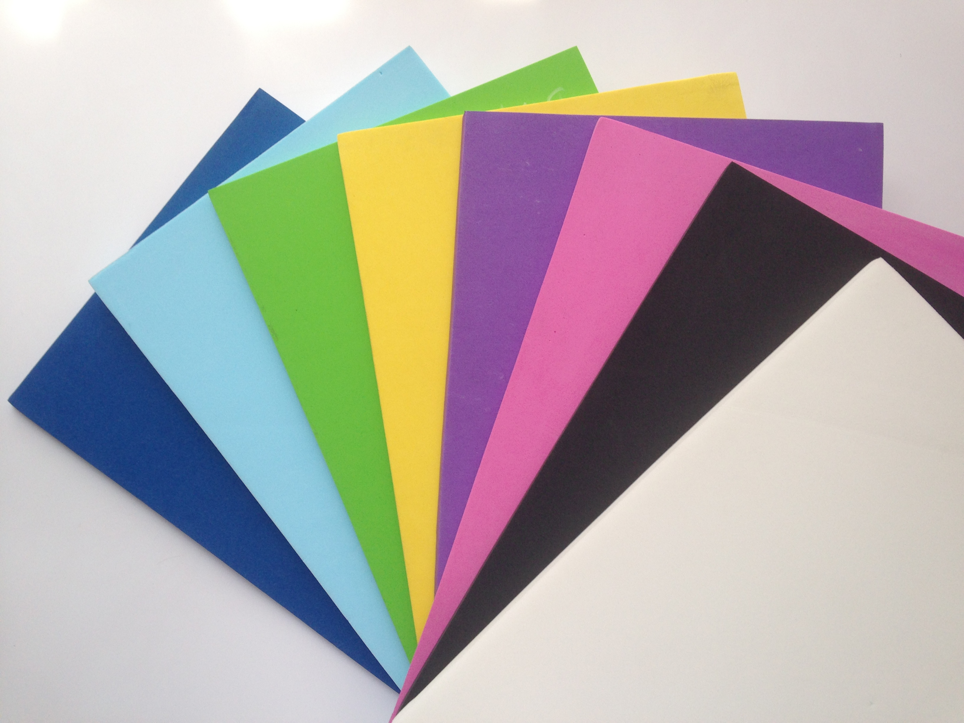 Colorful EVA foam sheets
